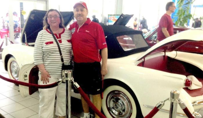 Former Owner of a 1953 Corvette Reunited with the Car After Selling it in 1974