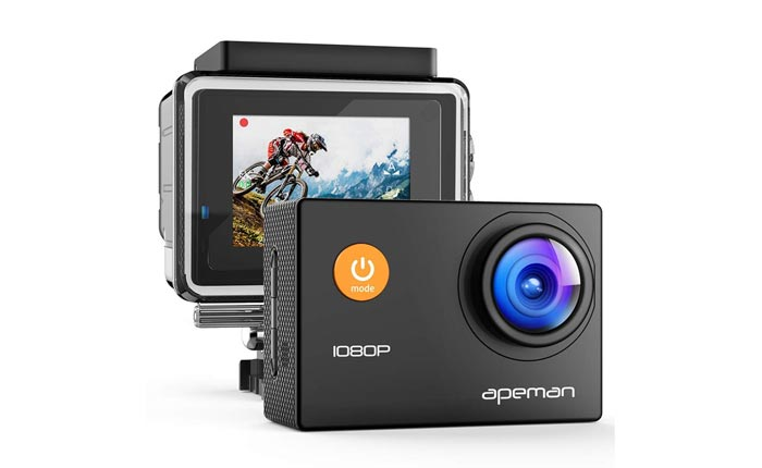 [AMAZON] Apeman 1080p Waterproof Action Camera For $30 Shipped