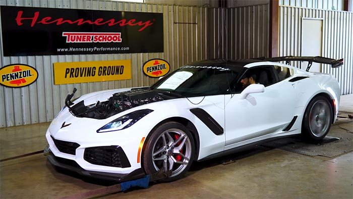 [VIDEO] Hennessey's HPE1000 Corvette ZR1 on the Dyno