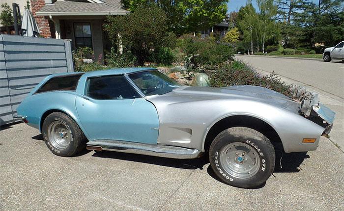 Corvettes on eBay: Custom 1973 Corvette Wagon
