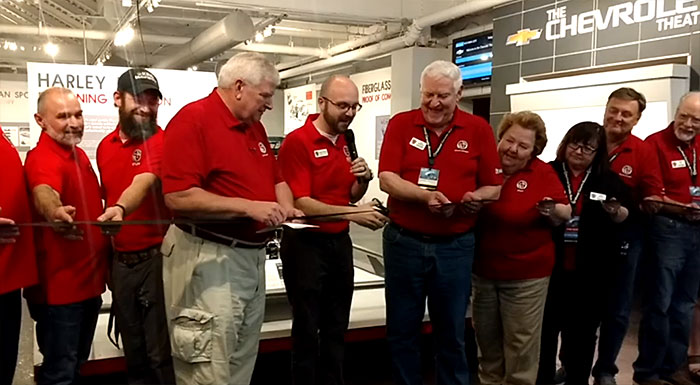 [VIDEO] National Corvette Museum Ribbon Cutting Ceremony for New Gateway Exhibit