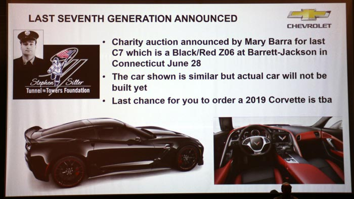 Final 2019 Corvette Z06 Auction
