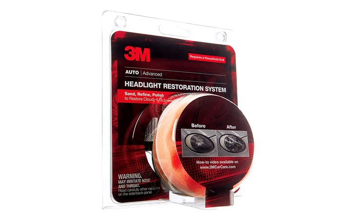 [AMAZON] Save 32% on the 3M Headlight Lens Restoration Kit Now Just $10.50