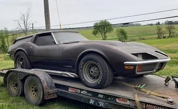 Found on Facebook: 1972 Corvette Sport Wagon