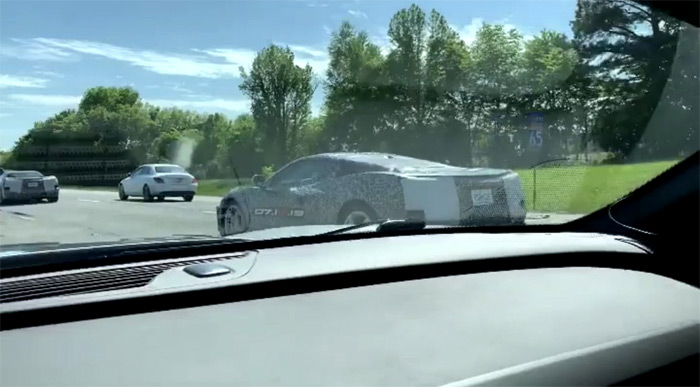 [VIDEO] Nothing to See Here Except for a C8 Corvette Caravan
