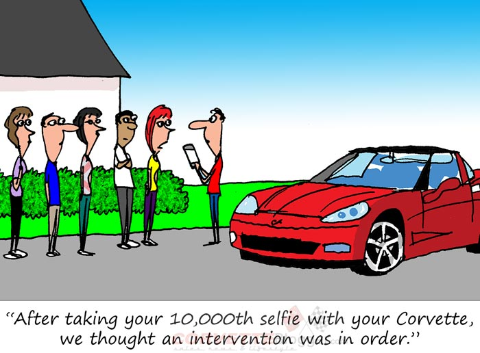 Saturday Morning Corvette Comic: Feeding the Addiction