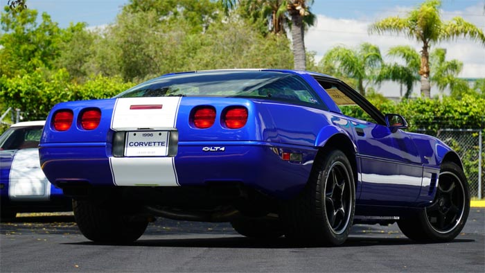 Corvettes for Sale: 1996 Corvette Grand Sport with 188 Miles on the Odometer