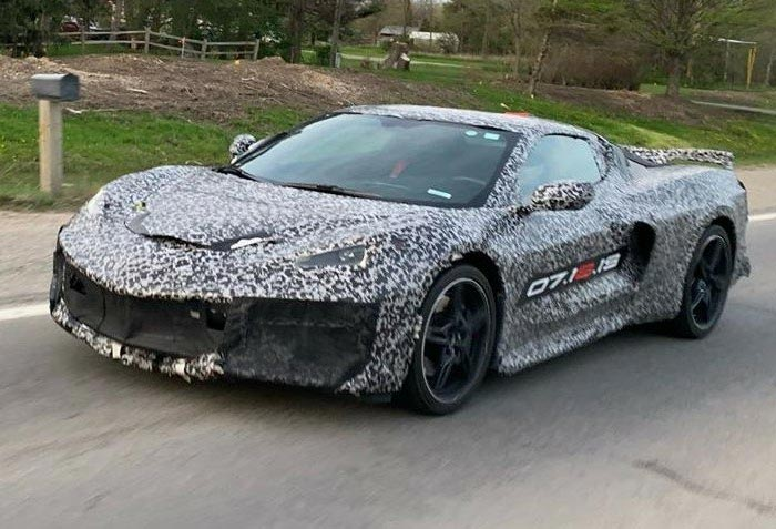[SPIED] Stray Mule Sightings of the C8 Mid-Engine Corvette in the Wild