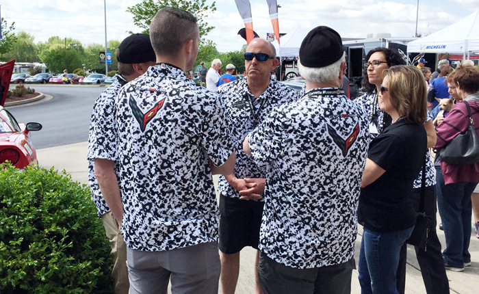 [VIDEO] The Story Behind the Corvette Team's Camouflage Bash Shirts