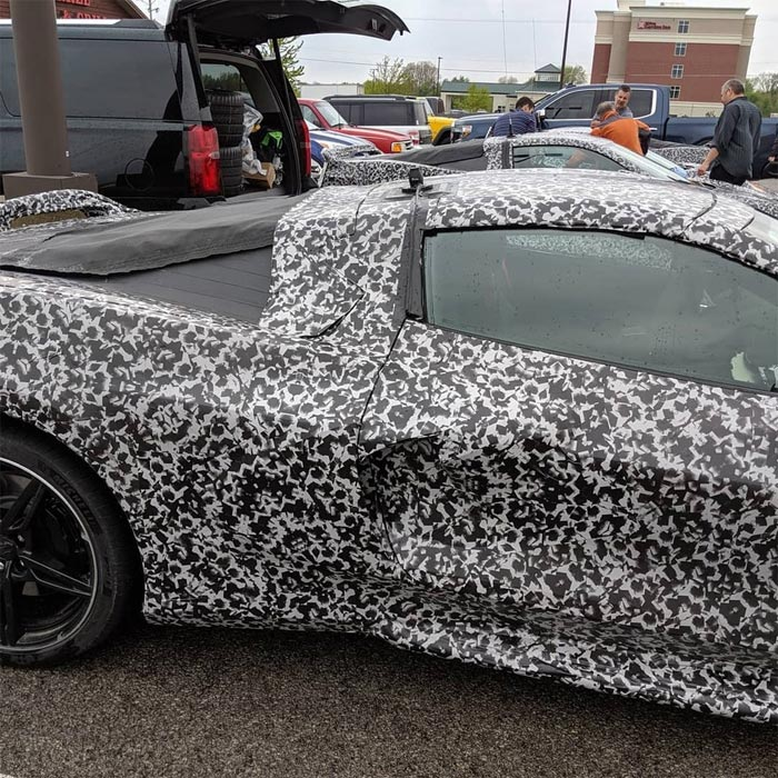 [SPIED] Corvette Insider Offers a Scoop on the C8's Scoop and More