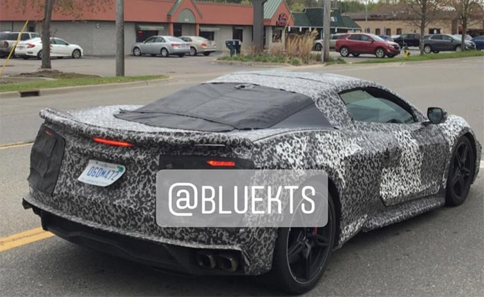 [SPIED] Lone C8 Corvette Prototype Spotted in Fenton, Michigan