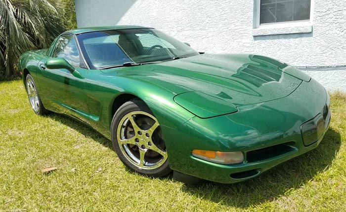 Found on Facebook: 1997 Corvette Coupe in Rare Fairway Green