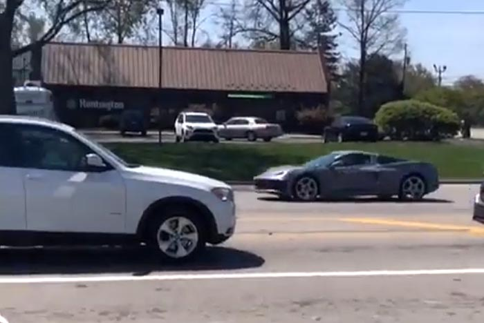 [VIDEO] Don't Blink or You'll Miss the C8 Corvettes Driving By!