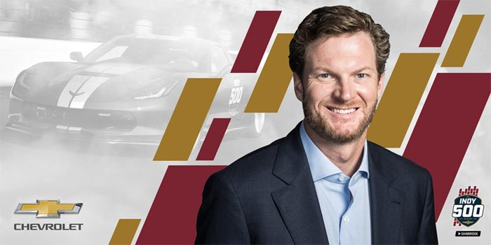 Dale Earnhardt Jr. To Drive the 2019 Corvette Grand Sport Indy 500 Pace Car