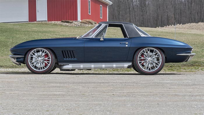 1967 Corvette Restomod Convertible up for grabs at Mecum Indy