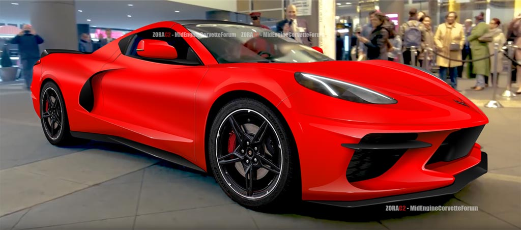 Pic New C8 Corvette Rendering From Zorac2 And The Mid