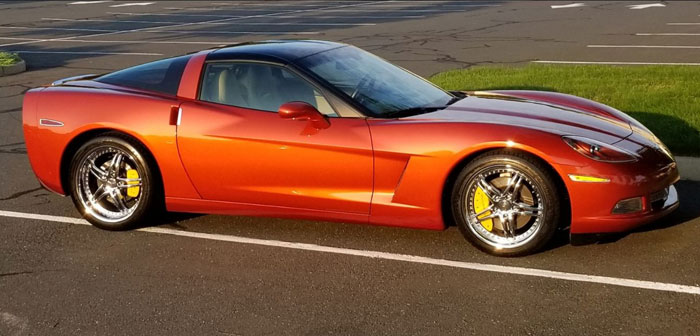 C6 Corvette with MGP Caliper Covers