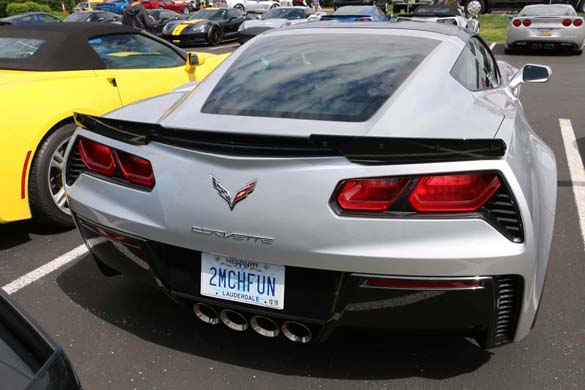 Corvette Vanity Plates from the 2019 NCM Bash