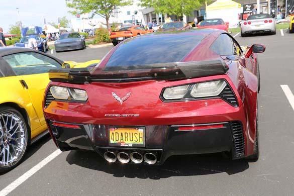 Corvette Vanity Plates from the 2019 NCM Bash