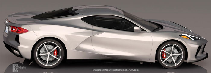 Chazcron Renders the C8 Mid-Engine Corvette