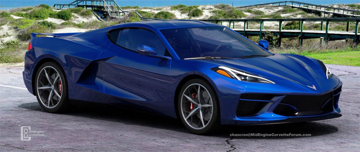 [PICS] Chazcron Renders the C8 Mid-Engine Corvette On Display at Kerbeck - Corvette: Sales, News ...