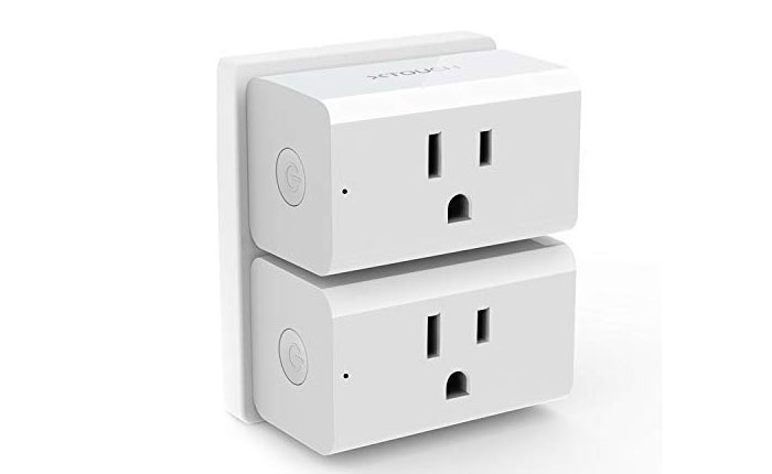 [AMAZON] Save 50% on 2-Pack of WiFi Smart Plugs Now Just $6.99