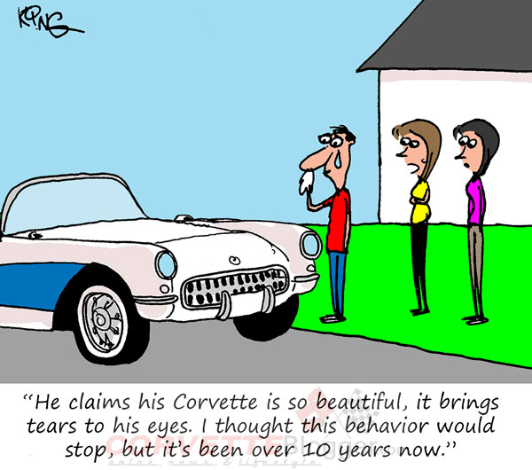 Saturday Morning Corvette Comic: The Crying Game