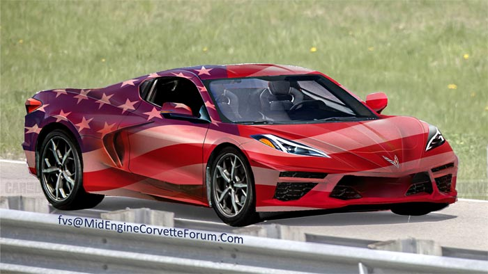 [PICS] FVS Renders a Patriotic C8 Mid-Engine Corvette for Memorial Day