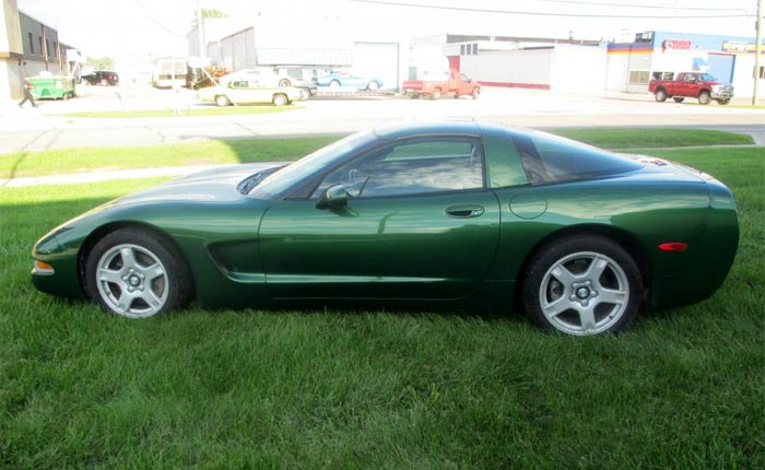 1997 Corvette Coupe in Fairway Green