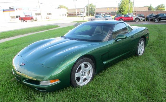 1997 Corvette Coupe in Fairway Green