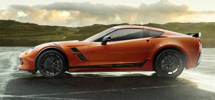 2019 Corvette Final Edition