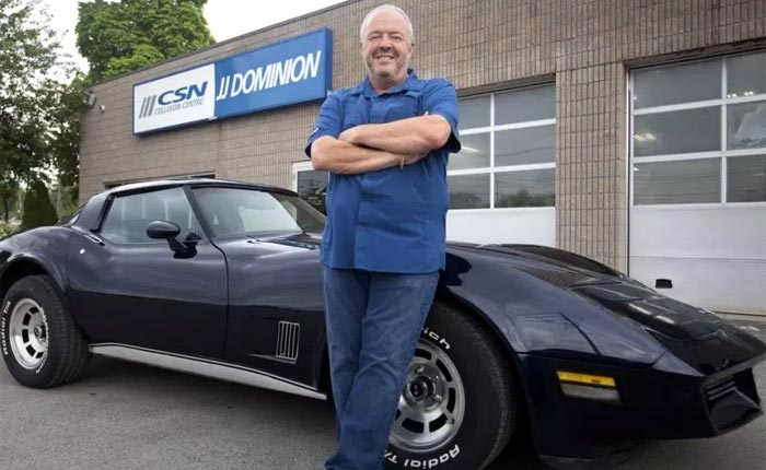 Canadian Man Donates His 1980 Corvette to Support Mental Health