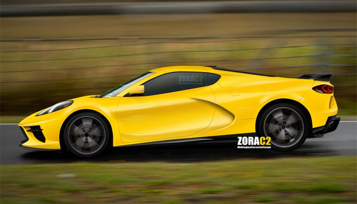 C8 Corvette Rendered by ZoraC2