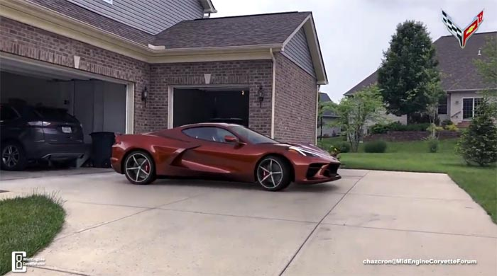 [VIDEO] Virtual C8 Mid-Engine Corvette Walkaround in Chazcron's Driveway is the Coolest Thing Ever