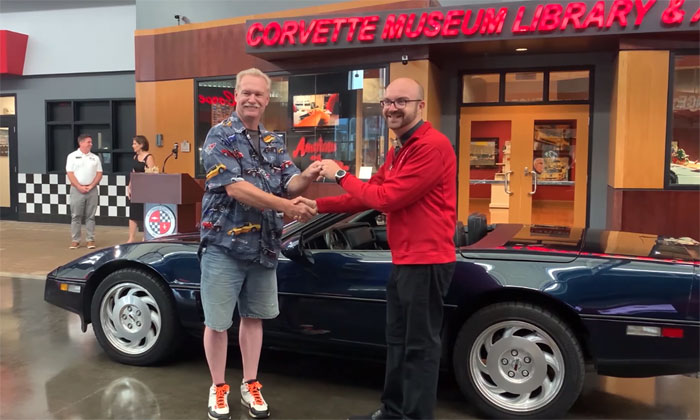 1988 'Miss America' Corvette Donated to the National Corvette Museum