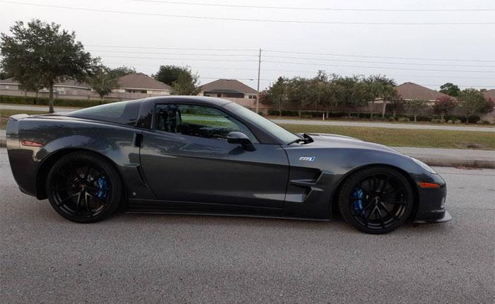 Corvettes on Craigslist: 2009 Corvette ZR1 with Under 10K miles for $57,000