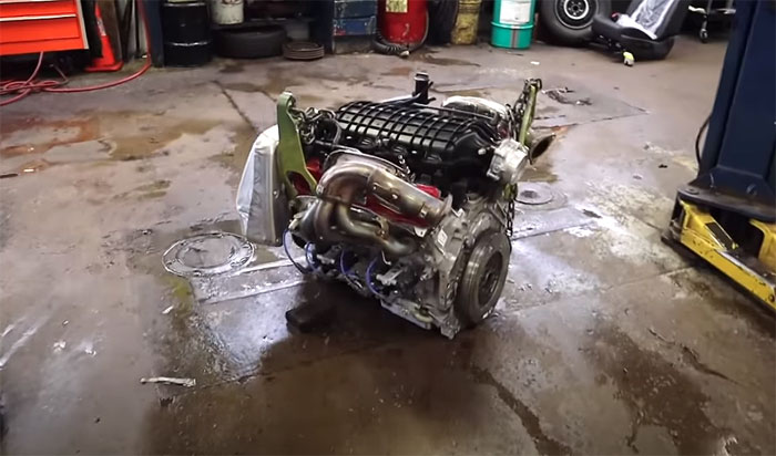 [VIDEO] GM Determines the Cause of the Engine Failure in YouTuber's C8 Corvette