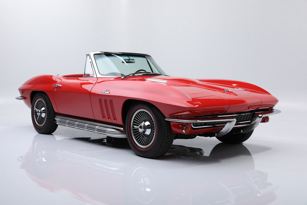 1966 red/black convertible