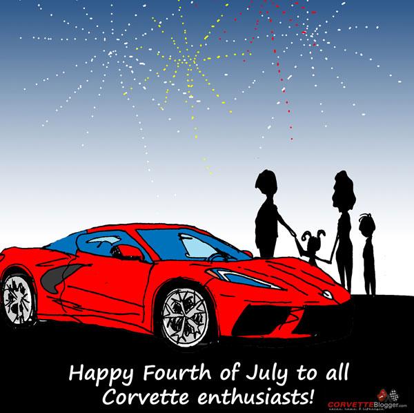 Saturday Morning Corvette Comic: Happy 4th of July!