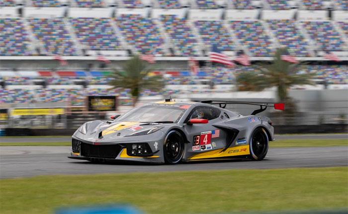 Corvette Racing at Daytona: Pole Position in GTLM for Gavin, No. 4 Corvette