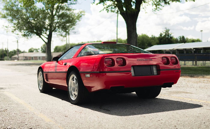 Corvettes for Sale: This 1990 Corvette ZR1 has just 92 Miles on the Odometer