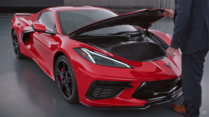 [VIDEO] The NHTSA Has Complaints of the 2020 Corvette's Frunk Opening While Driving