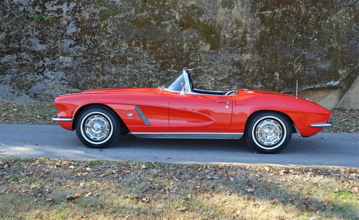 [VIDEO] Win This 1962 Corvette Fuelie from the St. Bernard Classic Corvette Raffle