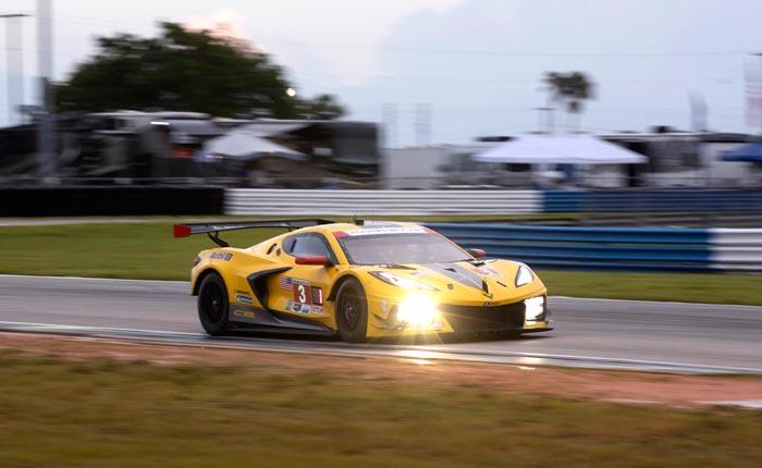 Corvette Racing at Sebring: Pole Position in GTLM for Taylor, No. 3 Corvette