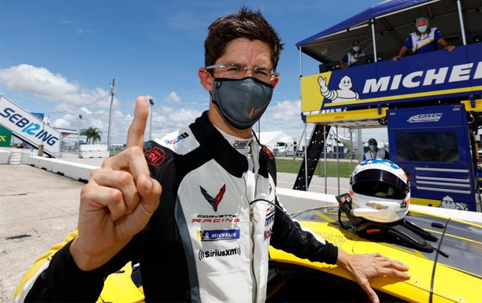 [VIDEO] Watch Jordan Taylor and the C8.R Set the GTLM Lap Record at Sebring