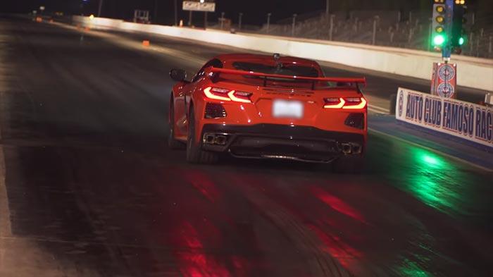 [VIDEO] Speed Phenom Runs the Quarter Mile in 10.95 Seconds in His Stock 2020 Corvette