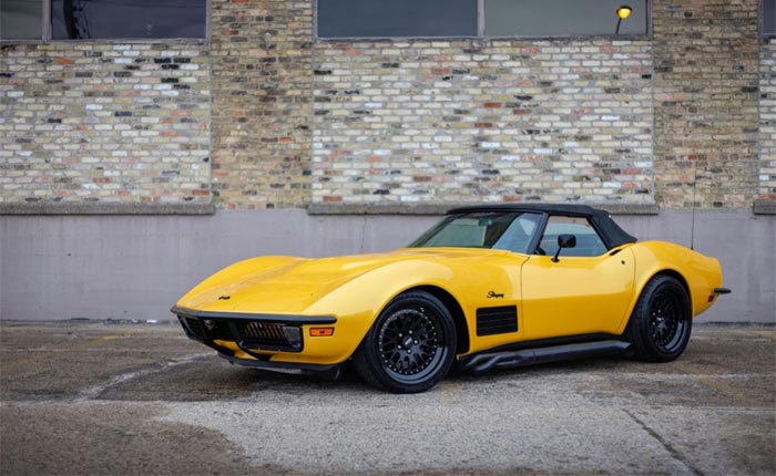 [VIDEO] 1970 Corvette Convertible Restmod Aptly Nicknamed 'The Crusher'