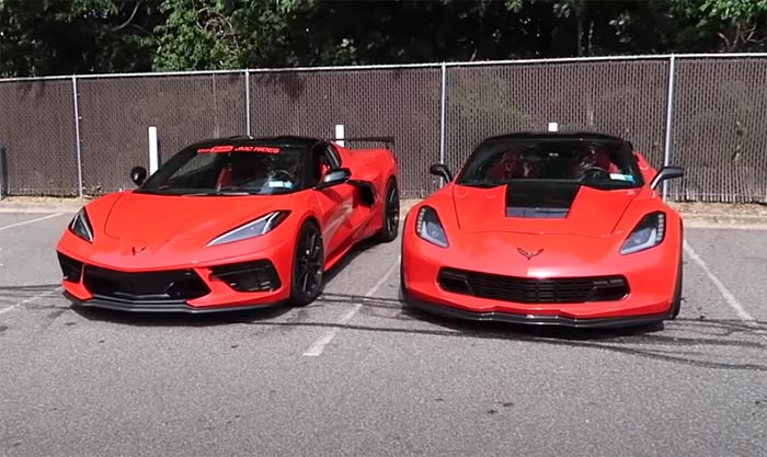Video After Losing Races To A C8 Corvette A C7 Grand Sport Owner Gets To Test Drive It Corvette Sales News Lifestyle