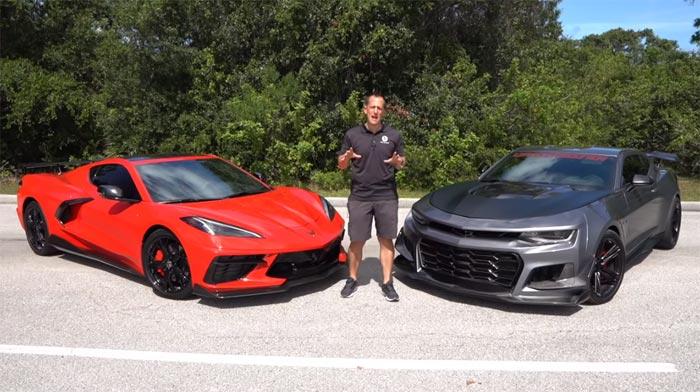 [VIDEO] Raiti's Rides Pits a 2020 Corvette Against a Lingenfelter Camaro ZL1 1LE