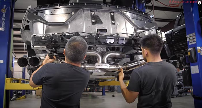 [VIDEO] Hennessey Makes Installing Their C8 Corvette Exhaust Upgrade Look Easy